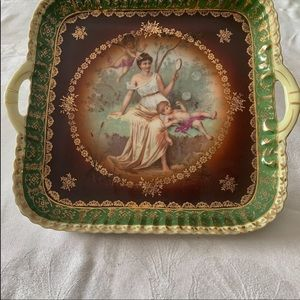 Collectible beautiful Vintage Bavarian Plate